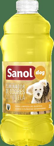 SANOL DOG ELIMINADOR DE ODORES CITRONELA 2L