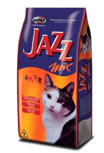 Ração Jazz Mix para Gatos Adultos 10,1Kg