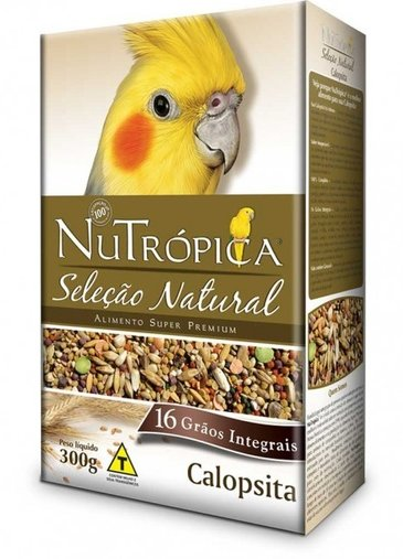 NUTROPICA SELECAO NATURAL CALOPSITA 300G