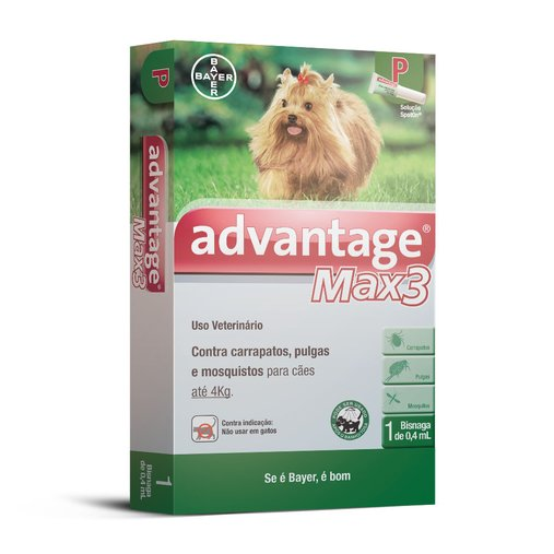 ANTIPULGAS ADVANTAGE MAX 3 CAES P 0,4ML