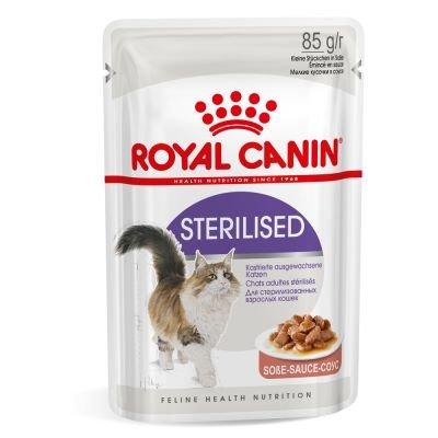 Sachê Royal Canin Sterilised Wet para Gatos Adultos Castrados 85g