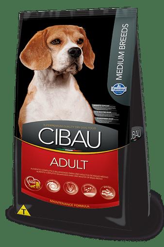 Ração Cibau Adult para Cães Adultos Raças Médias 15Kg