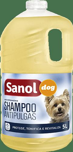 SANOL DOG SHAMPOO ANTIPULGAS 5L