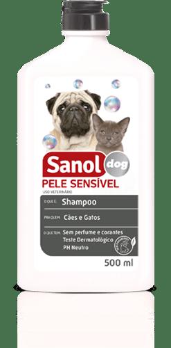SANOL DOG SHAMPOO PELE SENSIVEL 500ML