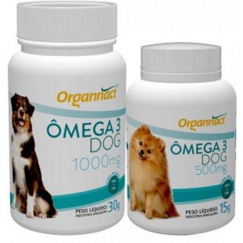 SUPLEMENTO ORGANNACT OMEGA 3 DOG 500MG 15G