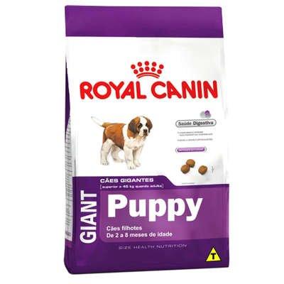 Ração Royal Canin Giant para Cães Filhotes até 8 meses 15Kg