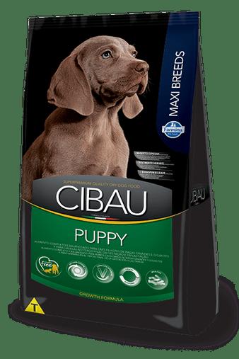 Ração Cibau Puppy para Cães Filhotes Raças Grandes e Gigantes 15Kg