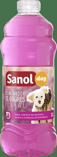 SANOL DOG ELIMINADOR DE ODORES FLORAL 2L