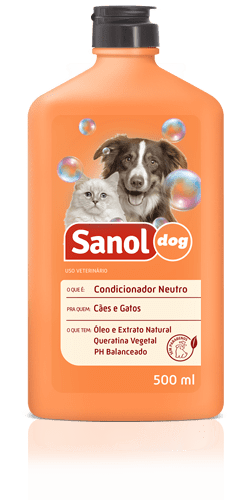 SANOL DOG CONDICIONADOR NEUTRO 500ML