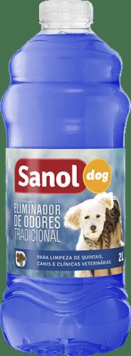 SANOL DOG ELIMINADOR DE ODOR NEUTRO AZUL 2L