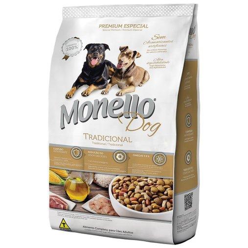 Ração Monello Dog Tradicional para Cães Adultos 15kg