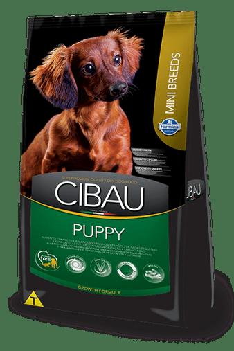 Ração Cibau Puppy para Cães Filhotes Raças Pequenas 3Kg