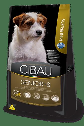 Ração Cibau Senior para Cães Senior mais 8 anos Raças Pequenas 3Kg