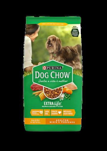 Ração Dog Chow para Cães Adultos Raças Pequenas 15Kg