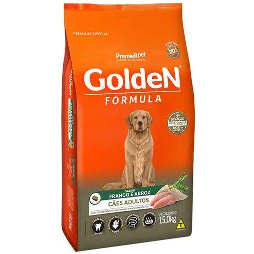 Ração Golden para Cães Adultos Sabor Frango 15Kg
