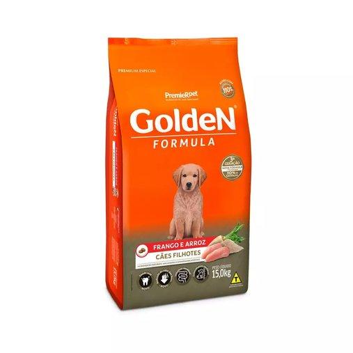 Ração Golden para Cães Filhotes Sabor Frango e Arroz 15Kg