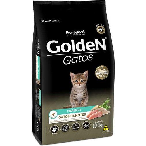 Ração Golden para Gatos Filhotes Sabor Frango 10,1Kg