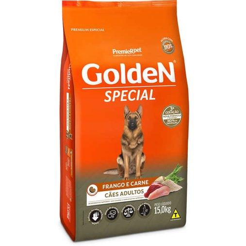 Ração Golden Special para Cães Adultos Sabor Frango e Carne 15Kg