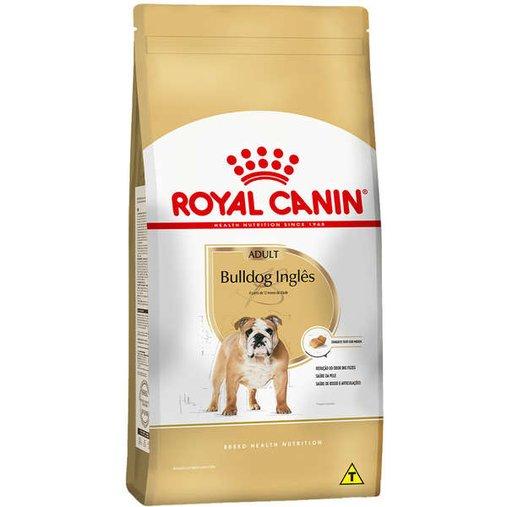 Ração Royal Canin Bulldog Inglês para Cães Adultos 12Kg