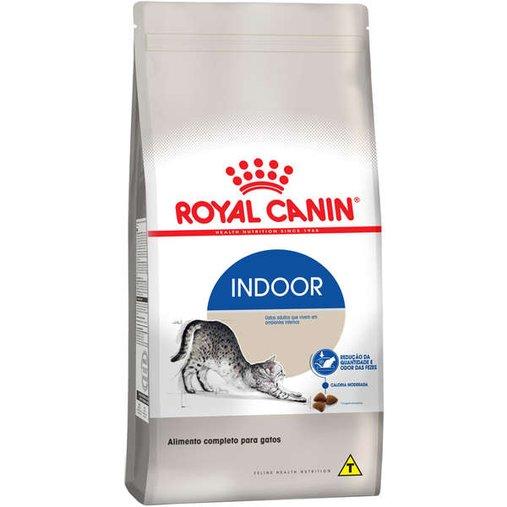 Ração Royal Canin Cat Indoor para Gatos 1,5Kg