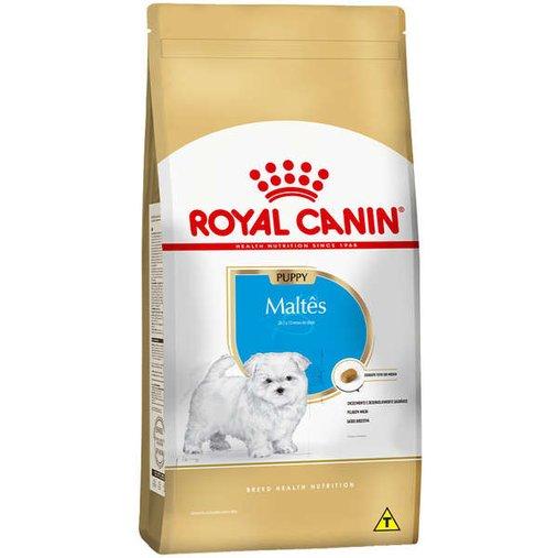 Ração Royal Canin Maltes para Cães Filhotes 1Kg
