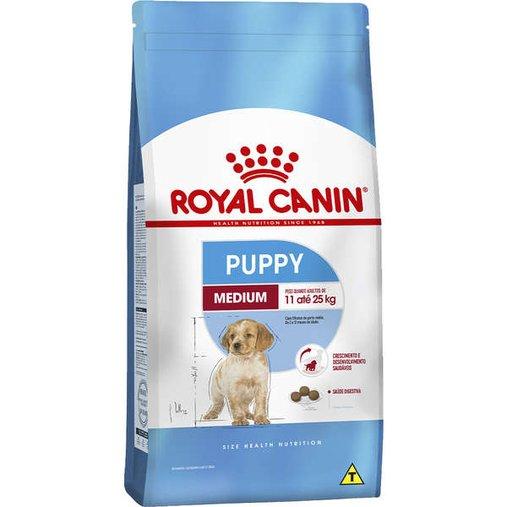 Ração Royal Canin Medium Junior para Cães Filhotes Raças Médias 15Kg