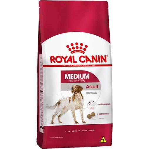 Ração Royal Canin Medium para Cães Adultos 15Kg