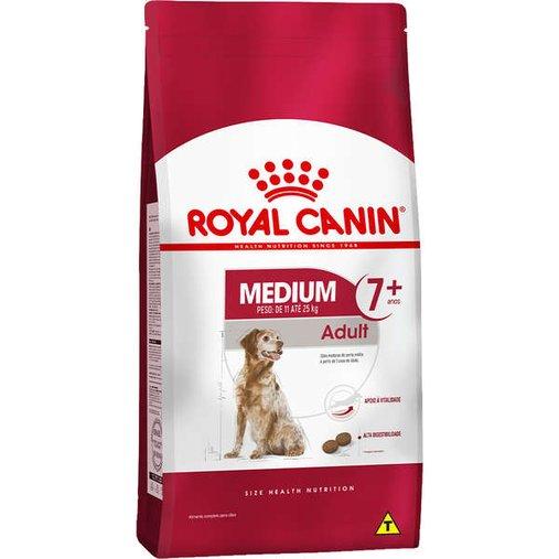 Ração Royal Canin Medium para Cães Sênior 7 anos ou mais 15Kg
