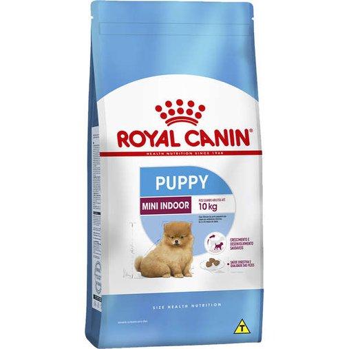 Ração Royal Canin Mini Indoor para Cães Filhotes 7,5Kg