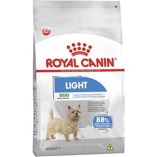 Ração Royal Canin Mini Light para Cães Adultos 2,5Kg