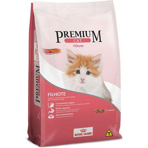 Ração Royal Canin Premium para Gatos Filhotes 1Kg