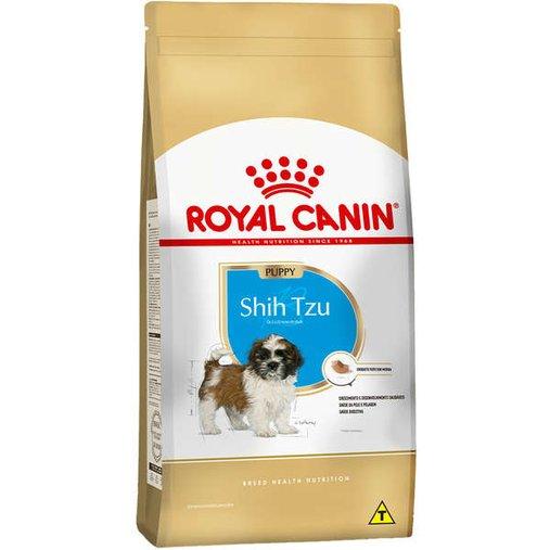 Ração Royal Canin Shih Tzu para Cães Filhotes 1Kg