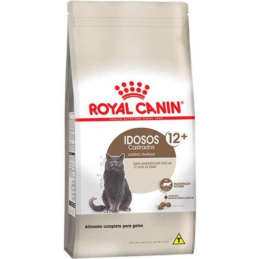 Ração Royal Canin Sterilised para Gatos Adultos Castrados 12+ 400g