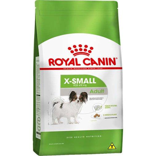 Ração Royal Canin X-Small para Cães Adultos Raças Pequenas 2,5Kg
