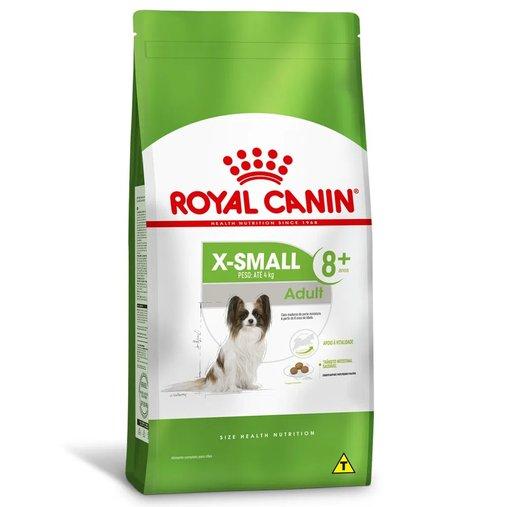 Ração Royal Canin X-Small para Cães Sênio 8+ Raças Pequenas 1Kg