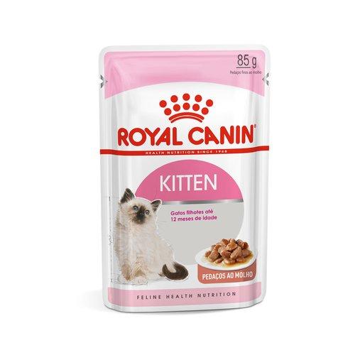 Sachê Royal Canin Kitten Instinctive Wet para Gatos Filhotes 85g