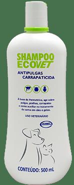 SHAMPOO ECOVET ANTIPULGAS 250ML